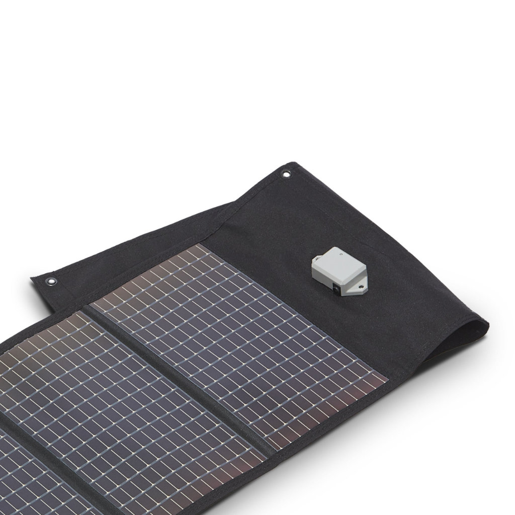Transcend miniCPAP solar battery charger