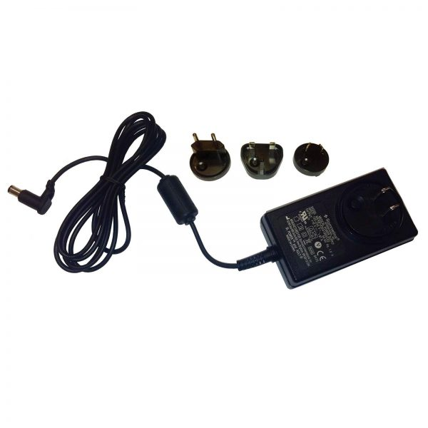 Multi-plug universal CPAP power supply